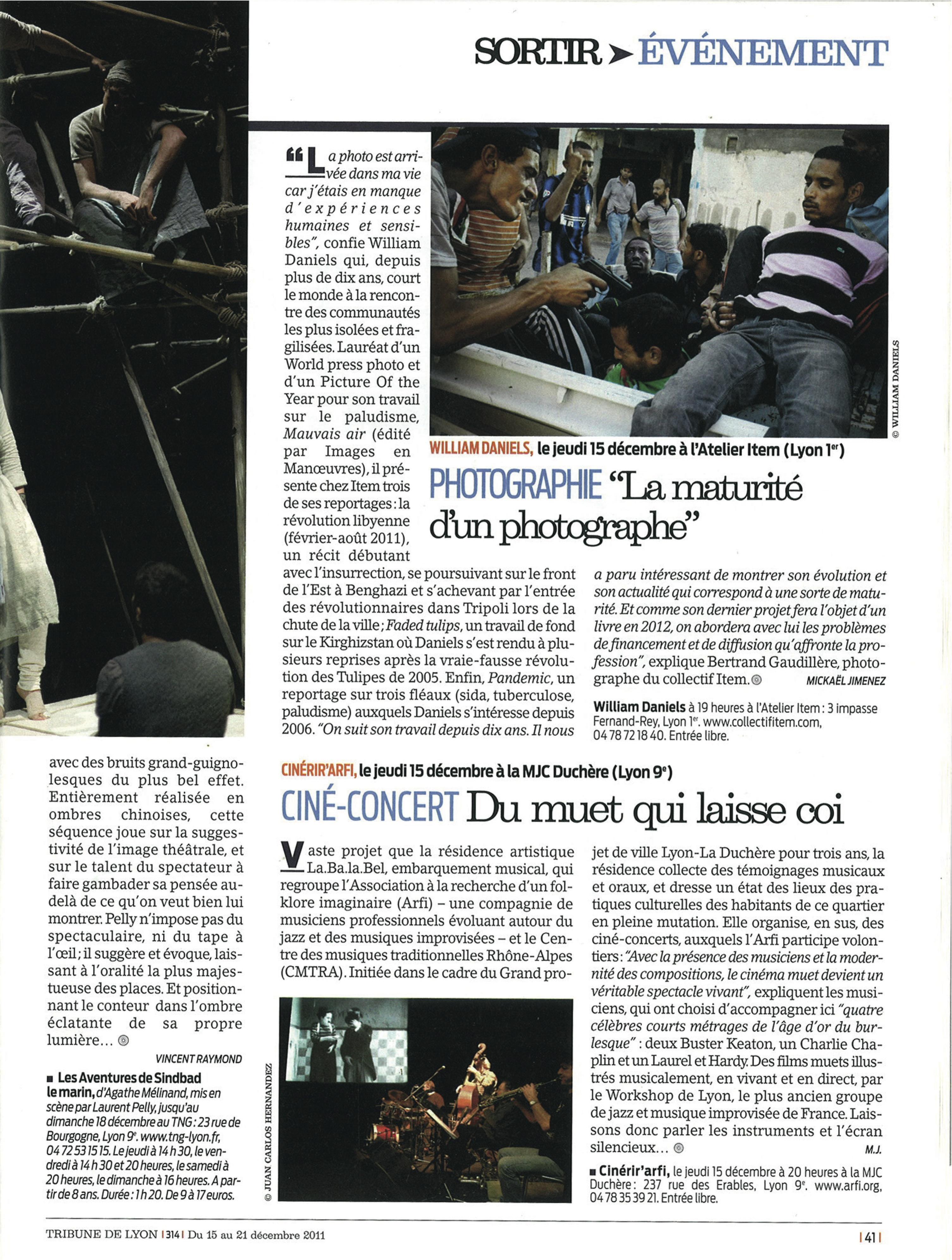 Tribune de Lyon-15au21déc2011
