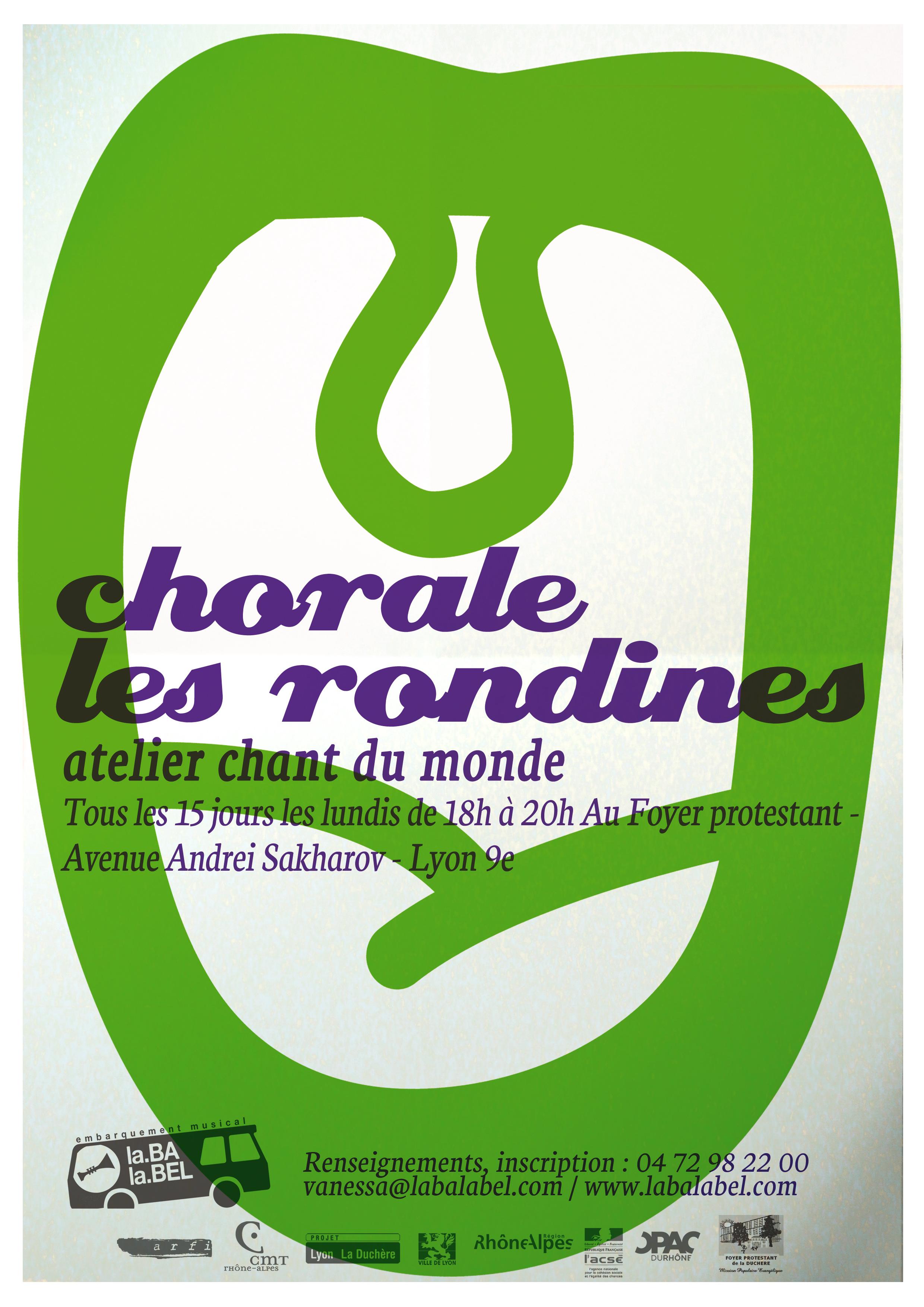 affiche rondine