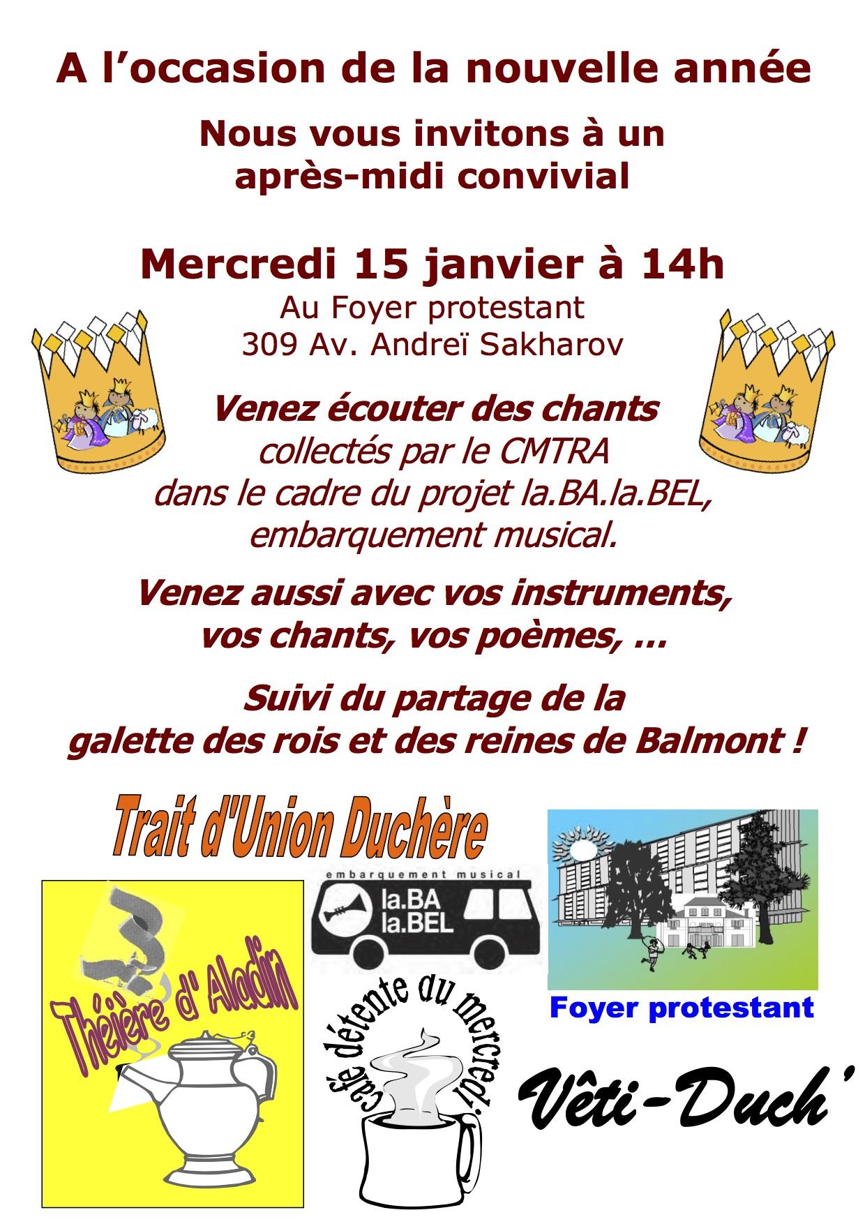 Invitation fête Balmont début d'année 2014
