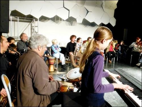 1er Atelier Orchestre à la MJC Duchère