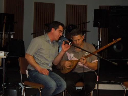 Répétition du Babel Orkestra : le duo Yacoup et Imer !